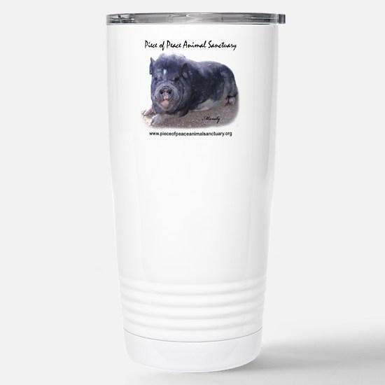 Unique Potbellied pigs Travel Mug