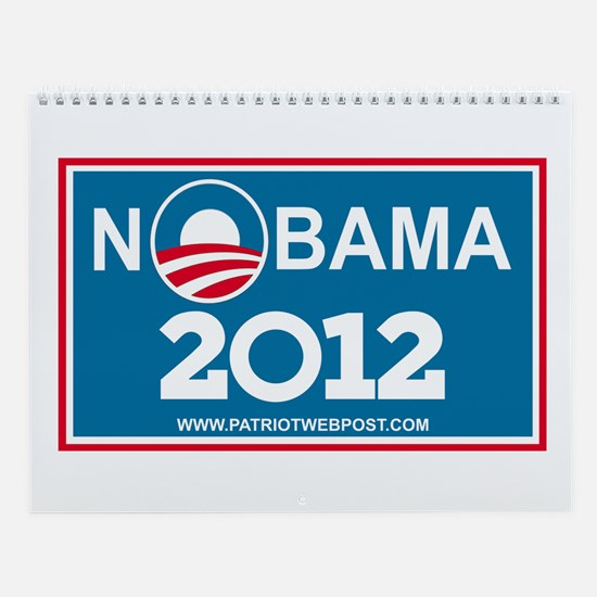 NoBama 2013 No Hope Wall Calendar