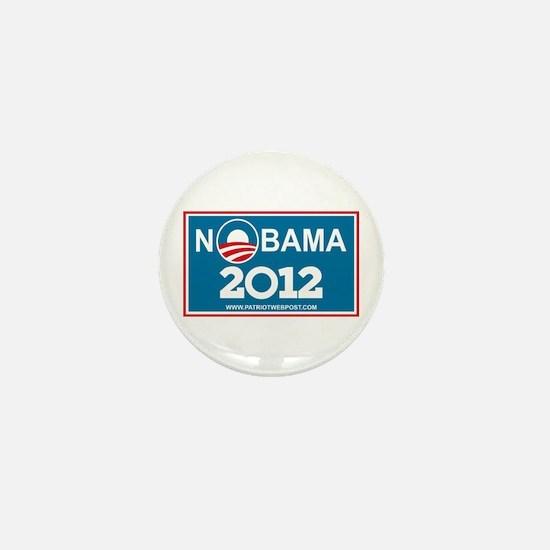 NoBama 2012 No Hope Mini Button