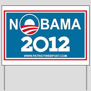 NoBama 2012 No Hope Yard Sign