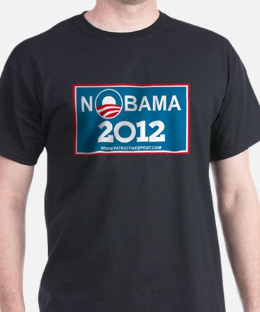 NoBama 2012 No Hope T-Shirt