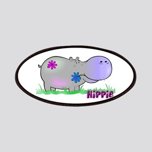 Hippie Hippo Patches