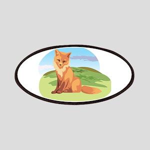 Scenic Fox Design Patches