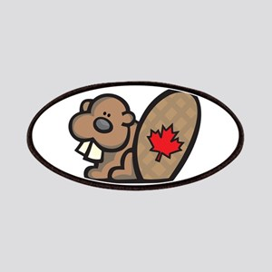 Cute Canadian Beaver Patches