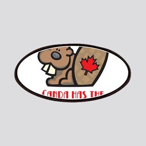 Canada Nicest Beavers Patches