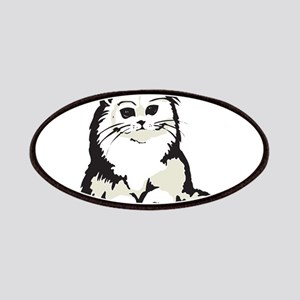 Cute White Persian Kitten Patches