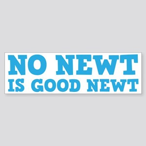 No Newt is Good Newt Sticker (Bumper)