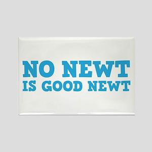 No Newt is Good Newt Rectangle Magnet
