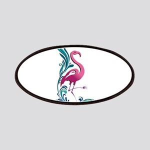 Flamingo Motif Patches