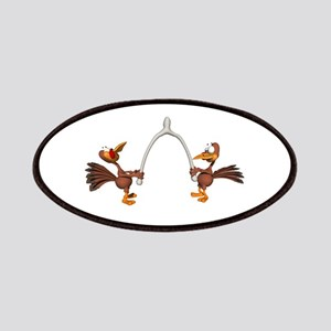 Turkeys Making Wish (Wishbone Patches
