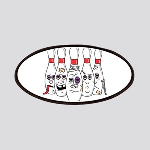 Beat Up Bowling Pins Patches