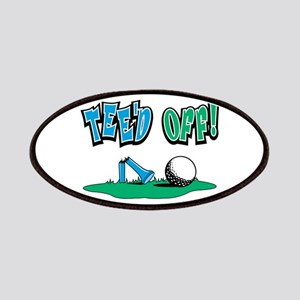Tee'd Off Golf Design Patches
