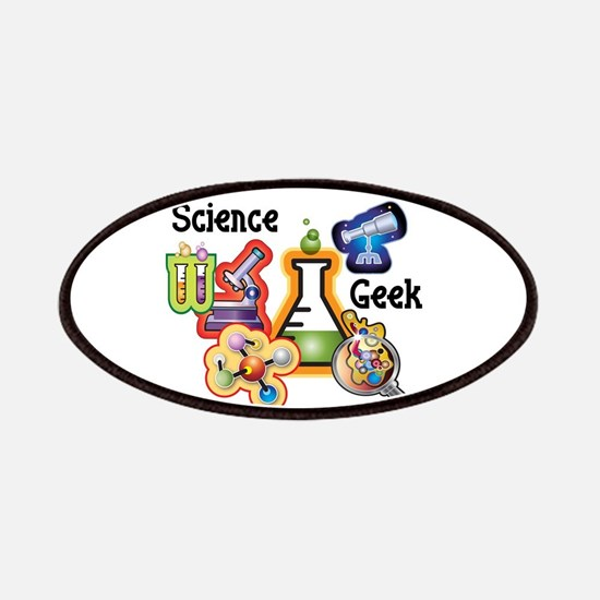 Science Geek Patches