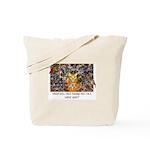 The Birding Cat Tote Bag
