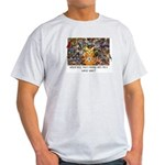 The Birding Cat Light T-Shirt