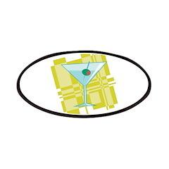 Retro Martini Design Patches