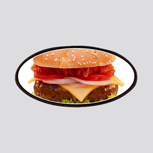 yummy cheeseburger photo Patches