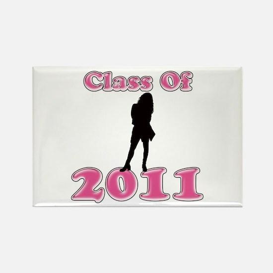 Unique 2011 college graduation Rectangle Magnet (100 pack)