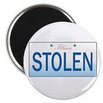 "IllinoisStolenPlate 2.25"" Magnet (100 pack)"