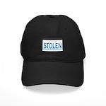 IllinoisStolenPlate Black Cap