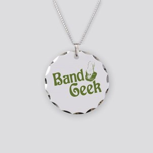 Band Geek Necklace Circle Charm