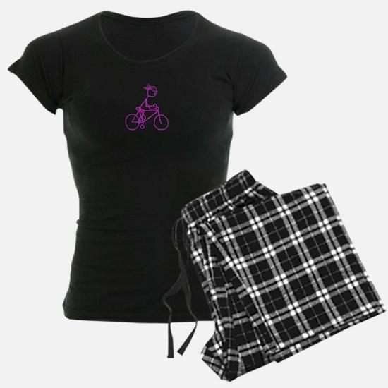 Bicycle Girl- Pink Pajamas