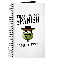 Tracing My Spanish Family Tree Journal