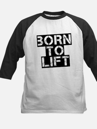 Born to Lift Kids Baseball Jersey
