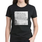 Burglar School (no text) Women's Dark T-Shirt