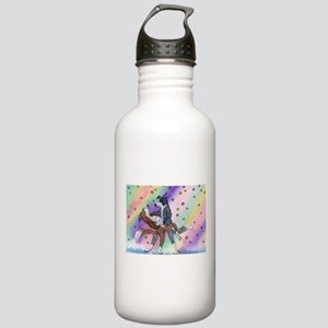 Ballroom dancing dogs Stainless Water Bottle 1.0L