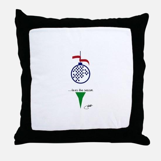 Cute Golf Throw Pillow