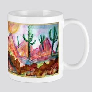 Desert, colorful, Mug