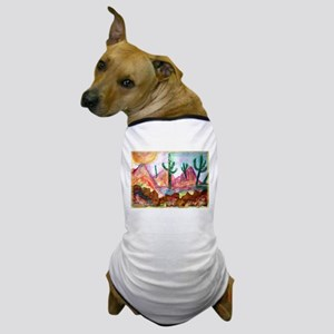 Desert, colorful, Dog T-Shirt