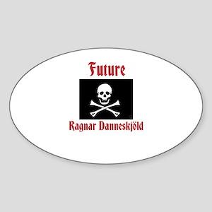 Ragnar Danneskjold Sticker (Oval)