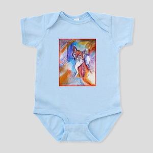 Fox, colorful, Infant Bodysuit