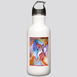 Fox, colorful, Stainless Water Bottle 1.0L