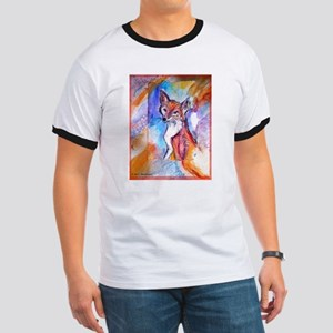 Fox, colorful, Ringer T