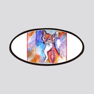 Fox, colorful, Patches
