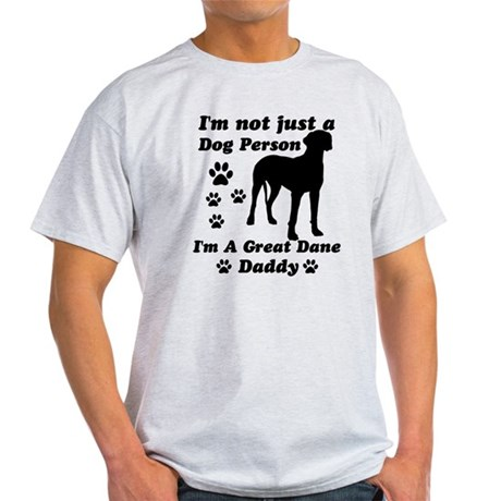 Great Dane Daddy Light T-Shirt