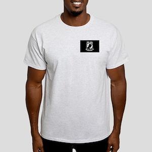 POW MIA Military Flag Light T-Shirt