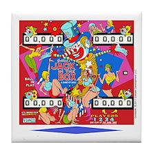 Gottlieb® Jack In The Box Pinball Tile Coaster