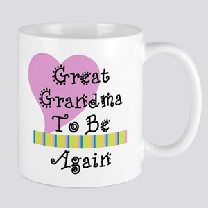 Great Grandma To Be Again Str Mug
