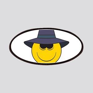 Private Eye/Spy Smiley Face Patches
