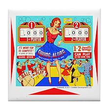 Gottlieb® Swing-Along Pinball Tile Coaster