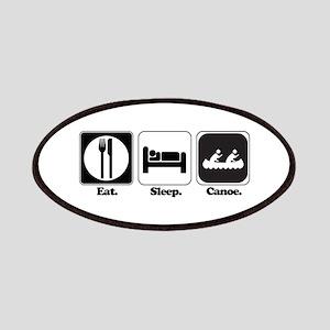 Eat. Sleep. Canoe. Patches