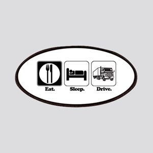 Eat. Sleep. Drive. (Truck Dri Patches