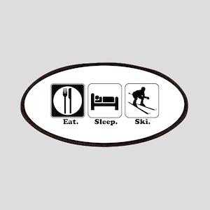 Eat. Sleep. Ski. Patches