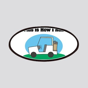 How I Roll (Golf Cart) Patches