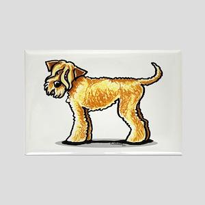 Soft Coated Wheaten Terrier Rectangle Magnet