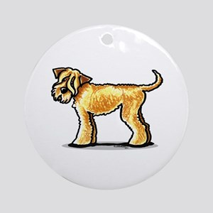 Soft Coated Wheaten Terrier Ornament (Round)